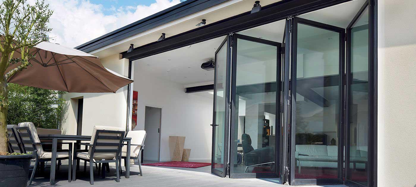 bi fold doors aluminium Hailsham